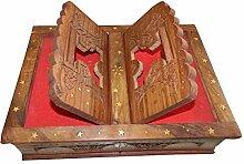 Buchständer Holz Buchstütze mit