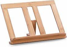 Buchständer - Kochbuchstütze aus Bambus - Bamboo - 35 x 20 x 20 cm
