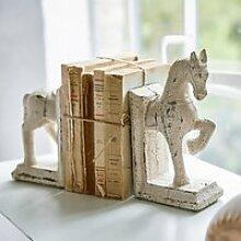 Buchstütze 2er Set Horses