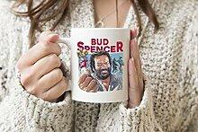 Bud Spencer Bulldozer Football 63 Weißer Becher