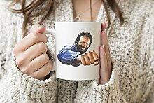 Bud Spencer Bulldozer Weißer Becher Kaffee Tee
