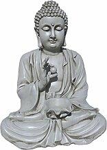 Buddha aus Stein, für Garten, sehr robust. Dekoration Gute Verarbeitung. Materialien. Modelle sikhimusgo. 80cm Höhe. 80kg