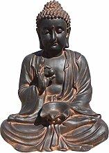Buddha aus Stein, für Garten, sehr robust. Dekoration Gute Verarbeitung. Materialien. Modelle sikhioxido. 80cm Höhe. 80kg
