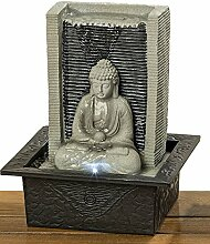 Buddha Brunnen Indoor Zimmerbrunnen mit LED Licht