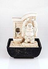 Buddha - Brunnen mit LED, Zimmerbrunnen,