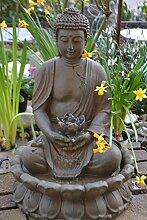 Buddha- Brunnen stabil + wasserdicht, Höhe 47-50