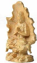 Buddha Dekoration, Chinesischer Buchsbaum