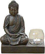 Buddha-Figur, Buddha-Skulptur, Buddha meditierend,