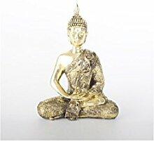 Buddha-Figur Gold(20x9x28 cm) Harz