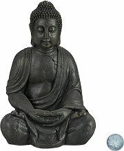 Buddha Figur sitzend, XL 70 cm, Gartenfigur,