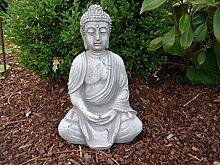 Buddha Figur Skulptur Steinfigur für Garten