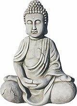 Buddha für Garten Polystone. Sehr dekorativ. Gute Verarbeitung. Mod. taramusgo. 50cm altua. 33kg