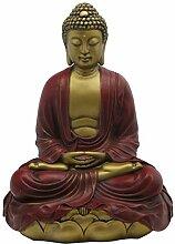 Buddha Groove Meditierende Buddha-Statue in