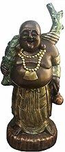 Buddha mit Ast - 125 x 70 cm