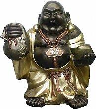 Buddha mit Kette - 73 cm