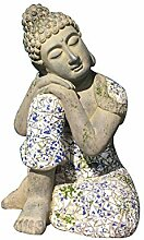 Buddha-Skulptur-Dekoration, schlafende