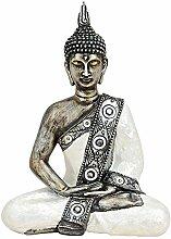 Buddha Statue Deko Figur 20x10x27cm | Meditierend