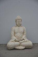 Buddha-Stein, sitzend, Farbe Stein, Statue