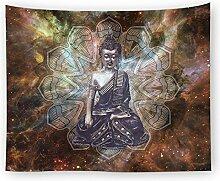 Buddha Tapisserien Meditation Buddha Tapisserie