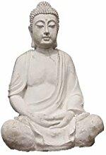 Buddha XXL, Figur aus Steinguss