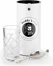 Buddy´s Bar - Rühr-Set, Rührglas 500 ml,