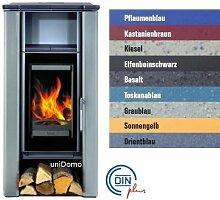 Buderus blueline Nr. 4 Kaminofen 8 kW Heizung Ofen, Farbe § Allgemein:Kiesel