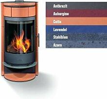Buderus blueline Nr. 7 Kaminofen 8 kW Heizung Ofen, Farbe § Allgemein:Aubergine