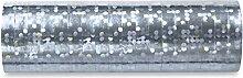 BUDILA® 20 Rollen Luftschlangen Silber-metallic für Jubiläum oder Silberhochzei