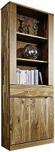 Bücherregal aus Wildeiche Massivholz 60 cm breit