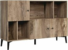 Bücherregal Bücherschrank Kommode Raumteiler mit