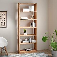 Bücherregal Celestia Gracie Oaks Farbe: Buche