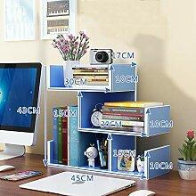 Bücherregal Chunlan Schreibtischablage,