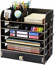 Bücherregal - Desktop-Aufbewahrungsbox
