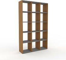 Bücherregal Eiche, Holz - Modernes Regal für