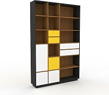 Bücherregal Eiche - Modernes Regal für Bücher: