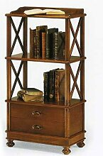 Bücherregal Holz Antik cm 54x34, h 105 -