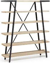 Bücherregal im Loft Style 180 cm hoch