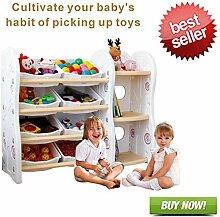 Bücherregal Kinder Spielzeugkiste Kinderregal
