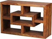 Bücherregal Massiv-Holz Sheesham 105 x 70 cm