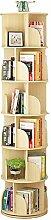 Bücherregal Mehrschichtiges, um 360 ° drehbares,