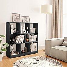 Bücherregal mit 8 Regalböden,