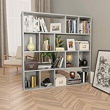 Bücherregal, offenes Regal mit 12 Fächern,