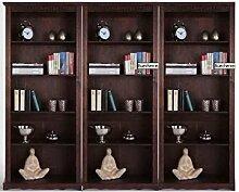 Bücherregal, Standregal, Bücherwand Kiefermassiv B. Mocca NEU
