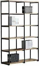 Bücherregal Storage Massivholz Partition Stapel