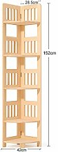 Bücherregal YNN Corner Rack Massivholz Dreieck