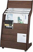 Bücherregal, Zeitungsständer Aus Holz Für