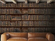 Bücherregale Tapete