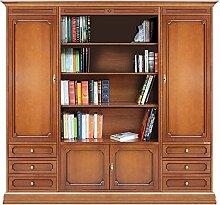 Bücherschrank 2 m für Wohnzimmer-wand, Möbel