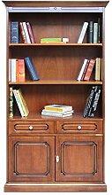 Bücherschrank mit Schublade und Türen,