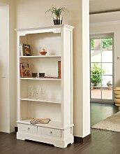 Bücherschrank Primus-weiß